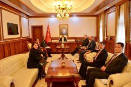 AB Türkiye Delegasyonu Başkanı Büyükelçi Berger, Malatya'da