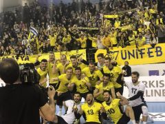 AXA Sigorta Erkekler Kupa Voley: Halkbank: 1 – Fenerbahçe: 3