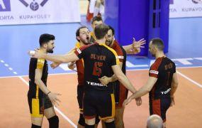 AXA Sigorta Erkekler Kupa Voley: İstanbul Büyükşehir Belediyespor: 0 – Galatasaray: 3
