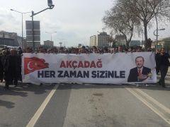 Akçadağlılardan Erdoğan'ın mitingine büyük ilgi