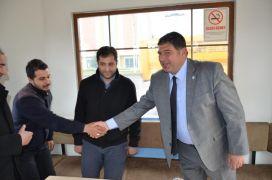 Başkan adayı Cem Parlak, taksici esnaflarıyla buluştu