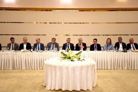 Büyükşehir Belediyesi Koordinasyon toplantısı gerçekleştirildi