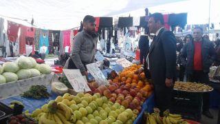 CHP'li Gökçe seçim çalışmalarına devam ediyor