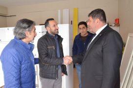 Çavuşoğlu Mahallesi sakinlerinden Parlak'a yoğun ilgi