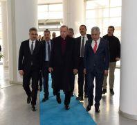 Cumhurbaşkanı Erdoğan'dan Büyükşehir Belediyesine ziyaret