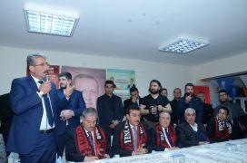 Darende'de Cumhur İttifakı adayı Özkan'a tam destek