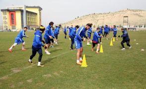 EY. Malatyaspor Ankaragücü maçının taktik provasını yaptı