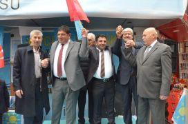 İYİ Partili Parlak'ın seçim bürosu açıldı