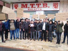 MTTB'den camideki katliamlara tepki