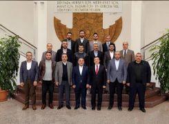 MÜSİAD'dan Rektör Kızılay'a ziyaret