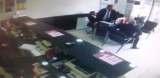Malatya'da deprem anında yaşananlar güvenlik kameralarında
