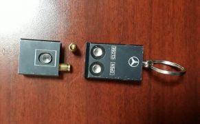Malatya'da otomobil anahtarı görünümlü suikast silahı