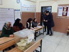 Malatya'da oy verme işlemi sürüyor