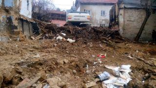 Malatya'da yangında 5 ev küle döndü