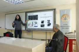 Ünlü nükleer bilimcisi Malatya'da seminer verdi