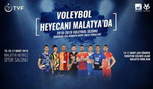 Voleybolda kupa heyecanı Malatya'da yaşanacak