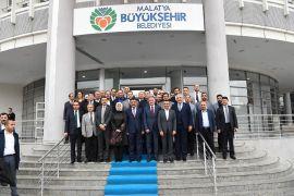 AK Parti'den Belediye Başkanı Gürkan'a ziyaret