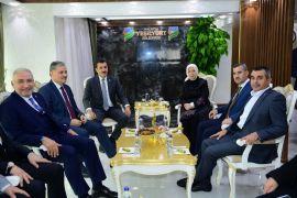 AK Parti heyetinden Başkan Çınar'a ziyaret