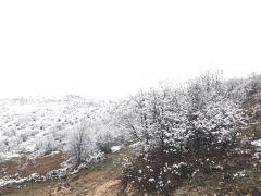 Akçadağ'da kar yağışı etkili oluyor