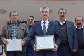 Arapgir'de Cömertoğlu mazbatasını aldı