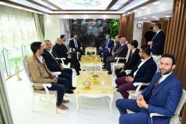 Başkan Çınar'a ziyaretçi akını