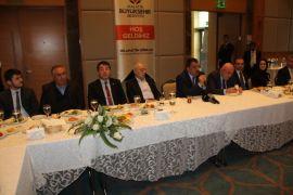 Başkan Gürkan MİAD yönetimi il bir araya geldi