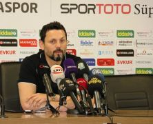 E. Yeni Malatyaspor – A. Alanyaspor maçının ardından
