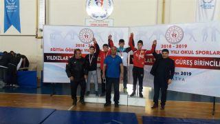 Güreş Türkiye Birinciliği Müsabakaları sona erdi