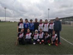 Kız öğrencilerden futbolda büyük başarı