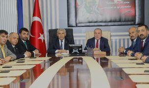 MHP'den Başkan Güder'e hayırlı olsun ziyareti