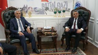 MTSO yönetiminden Gürkan'a ziyaret