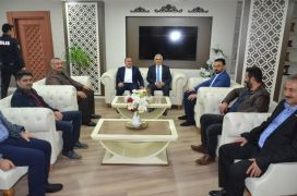 MÜSİAD Başkanı Poyraz'dan emniyete anlamlı ziyaret