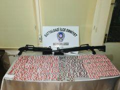 Malatya'da çok sayıda uyuşturucu hap ele geçirildi