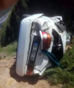 Malatya'da otomobil şarampole uçtu: 1 ölü, 1 yaralı