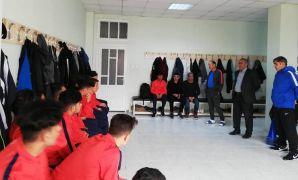 Malatya Yeşilyurt Belediyespor U17 takımı için uğurlama töreni
