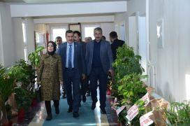 Milletvekili Tüfenkci'den Darende Belediyesi'ne ziyaret