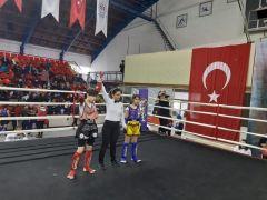Muay Thai Türkiye Şampiyonasında 7 madalya