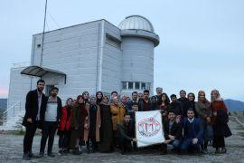 Muş Alparslan Üniversitesi öğrencileri Gözlemevi'ni ziyaret etti