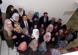 Rektör Kızılay, Suriyeli öğrencilerle buluştu