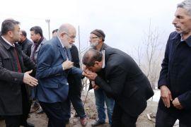 SP Genel Başkanı Karamollaoğlu'ndan başsağlığı ziyareti