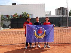 TED Kolejinden teniste büyük başarı