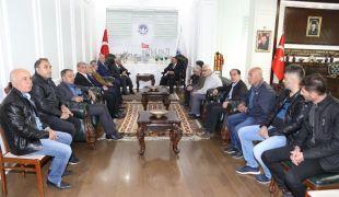 Türk-İş'ten Başkan Güder'e ziyaret