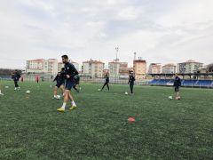 Yeşilyurt'ta  Ağrı maçının hazırlıkları başladı