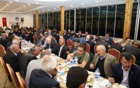 Başkan Güder, muhtarlarla iftar yemeğinde bir araya geldi