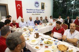 Başkan Güder partililerle iftarda bir araya geldi