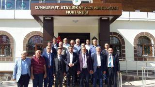 CHP'li Kiraz'dan Yeşilyurt Muhtarlar Derneği'ne ziyaret