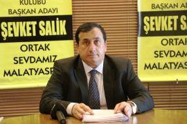 E. Yeni Malatyaspor Başkanlığına aday olan Şevket Salik'ten tüzük tepkisi