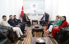 Eczacılardan Osman Güder'e ziyaret