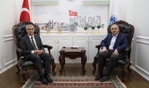 İlim Yayma Cemiyeti'nden Başkan Güder'e ziyaret