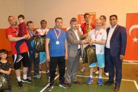 M. Akif İnan Voleybol Turnuvası sona erdi